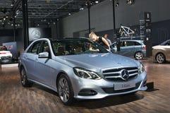 Мерседес-Benz e 300 Стоковые Фотографии RF