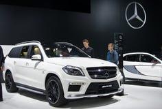 Мерседес-Benz GL 63 AMG Стоковое Изображение RF