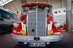 Мерседес-Benz O3500 туристического автобуса, 1950 Стоковое фото RF