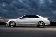 Мерседес-Benz 2015 S63 AMG Стоковое фото RF