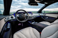 Мерседес-Benz 2015 S63 AMG Стоковые Фотографии RF