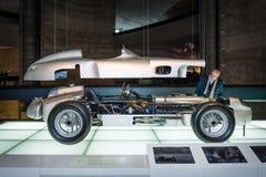 Мерседес-Benz W196R гоночного автомобиля Формула-1, 2,5 литров, 1955 Стоковые Фото