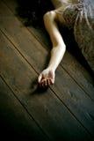 мертвая женщина Стоковые Изображения