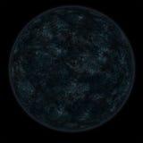 мертвая, котор замерли луна Стоковая Фотография