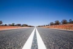 Мертвая прямая дорога Стоковое фото RF
