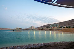 мертвое море вечера Гостиницы Leonardo Стоковое Фото