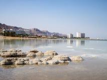 Мертвое море в Израиле стоковая фотография