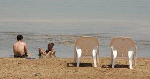 мертвое море грязей терапевтическое Стоковые Изображения RF