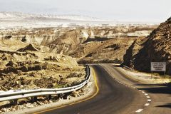 мертвое море Израиля стоковая фотография rf