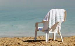 Мертвое море Израиль Ein Bokek Стоковое фото RF