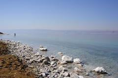 мертвое море Иордана Стоковые Фотографии RF