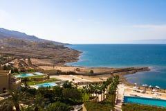 мертвое море Иордана Стоковое Изображение