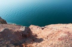 Мертвое море, море соли, Джордан, Ближний Восток Стоковое Изображение