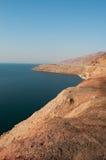Мертвое море, море соли, Джордан, Ближний Восток Стоковое Изображение RF
