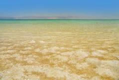 мертвое море соли стоковые изображения rf