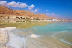 мертвое море соли Стоковое фото RF
