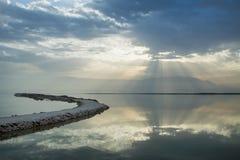 мертвое море стоковое изображение rf