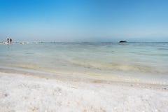 Мертвое море, Ein Bokek, Израиль Стоковая Фотография RF