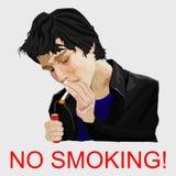 мертвое для некурящих Стоковое фото RF