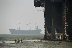 мертвые корабли Стоковые Фото