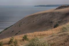 Мертвые дюны в Neringa, Литве Стоковые Изображения RF