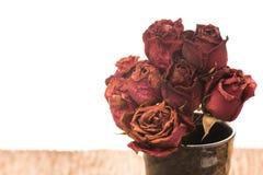 Мертвый букет роз Стоковое Изображение RF