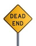 мертвый конец доски Стоковое Изображение RF