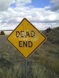 Мертвый конец Стоковое фото RF
