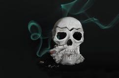 Мертвый курильщик Стоковые Изображения