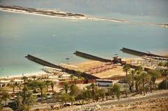 Мертвый морской курорт на южной стороне Стоковое Изображение