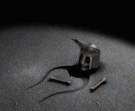мертвый рыцарь Стоковое фото RF