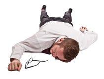 Мертвый человек стоковое фото