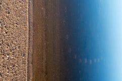 мерцающие отражения на поверхности моря стоковые изображения rf