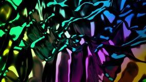 мерцая абстрактная предпосылка научной фантастики 4K иллюстрация вектора