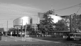 Меры безопасности для официального визита Emmanuel Macron в страсбурге, Франции