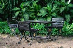 Места в саде на никто Стоковое Изображение