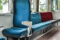 Места в японском переводе поездов для верхнего правого текста: мусорное ведро стоковое фото rf