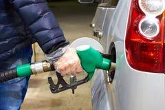 Места гигиены публично бензоколонка питания автомобиля ваша Стоковая Фотография