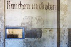 Места где получили пленников на концентрации Dachau Стоковая Фотография RF