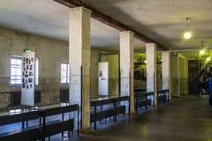 Места где получили пленников на концентрации Dachau Стоковое Изображение