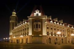 места ночи делового центра Стоковые Фото