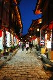 места ночи lijiang Стоковые Фотографии RF