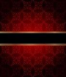 места приглашения flayer украшения карточки текст классицистического шикарного точного золотистого идеально безшовный для использ Стоковые Фото