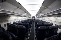 места самолета стоковое изображение