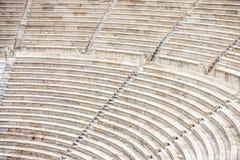 Места старого Odeon Аттика Herodes, Афин Стоковые Изображения