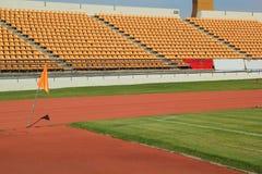 Места стадиона для вахты некоторые спорт или футбол Стоковая Фотография RF
