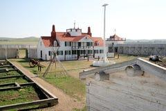 места столба форта соединение исторического национального торгуя Стоковые Фотографии RF