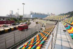 Места следа и зрителя для Макао Grand Prix. Стоковые Фото