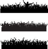 места толпы Стоковое фото RF