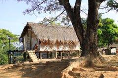 Местная деревня в северном Таиланде Стоковые Изображения